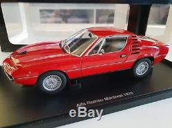 AutoArt 1/18 Alfa Romeo Montreal Coupé 1970 Red Rouge 70171