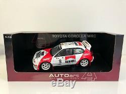 Auto art 1/18 Toyota Corolla WRC Rally Portugal num 9 80021 2123