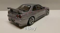 Autoart 118 Nissan Skyline R34 S-Tune Silver