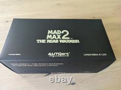 Autoart 1/18 Mad Max 2 Interceptor Upgraded V. MUDDY FINISH 72760 1000 PCS WW