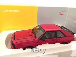 Autoart Audi Sport Quattro SWB Red 1/18 dealer edition