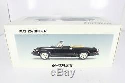 Autoart Millenium 118 Fiat 124 Spider 72611
