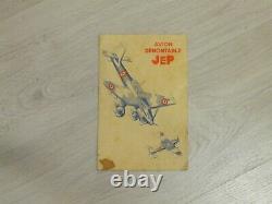 Avion Stuka DUX / JEP en boite d'origine. Très bel état. RARE