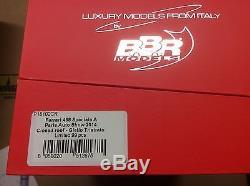 BBR 118 P18102CR FERRARI 458 Speciale A Paris 2014