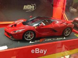 BBR 1/18 Ferrari LaFerrari red press version nuovissima no elite, no MR