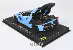 BBR BB3182229 Ferrari LaFerrari Tailor made DIE CAST Baby Blue 1/18
