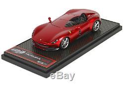 BBR BBR220B Ferrari Monza SP1 Metal Rosso Portofino 1/43