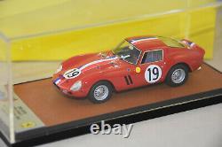 BBR BBR260 Ferrari 250 GTO 24 H Le Mans 1962 Winner Guichet Noblet 1/43