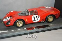 BBR BBRC1835A Ferrari 330 P3 24H Le Mans 1966 N°21 1/18