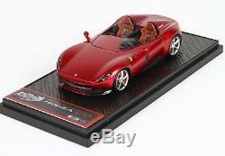 BBR BBRC221C Ferrari Monza SP2 Red Portofino 1/43