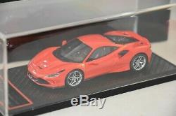 BBR BBRC224A Ferrari F8 Tributo Genève 2019 Rosso Scuderia 1/43