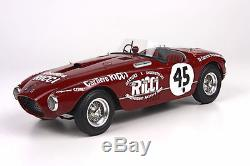 BBR BLM1806 Ferrari 340 Spider Vignale Carrera Panamericana 1954 1/18