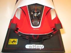 BBR Ferrari FXXK red Abu Dhabi 2014 #10 1/18 P18104 no MR Kyosho MG CMC GMP APM