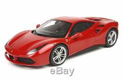 BBR P18106 Ferrari 488 GTB 2015 Rosso Corsa 322 Metal 488 pcs 1/18