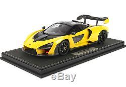 BBR P18149H1 McLaren Senna 2018 Volcano Yellow 1/18