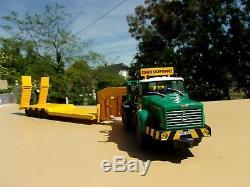 BERLIET TBO 15 M3 6 x 4 Camion Semi Remorque Porte-Engins ZUCCONI 1/43 Neuf