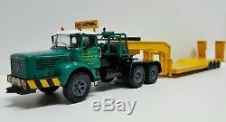 BERLIET TBO 15 M3 6x4 Camion Semi-Remorque Porte Engins Zucconi 1/43 Neuf n° 56