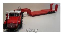 BERLIET TBO 15 M3 camion semi-remorque Porte Engins MASSOT 1/43 Neuf en boite