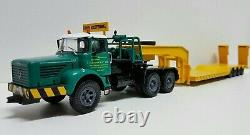 BERLIET TBO 15 M3 camion semi-remorque Porte Engins ZUCCONI 1/43 Neuf en boite