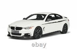 BMW 435i M Performance-1/18-Blanche-Rare Edition-GT Spirit -neuve scellée
