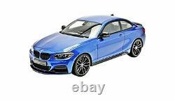BMW M235 1/18 GT SPIRIT ultra limitée à 504 ex ZM058 idem ottomobile