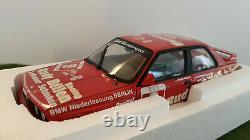 BMW M3 DTM 1988 GROHS #9 RUDY BILLEN 1/18 MINICHAMPS 180882009 voiture miniature