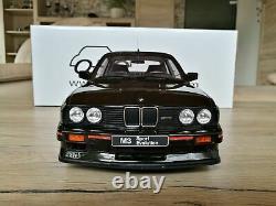BMW M3 E30 sport evolution noire black schwarz 1/12 G023 Ottomobile Otto