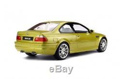 BMW M3 E46 COUPE JAUNE PHOENIX 1/12 OttO models OttOmobile G025 EN STOCK