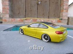 BMW M4 F82 Coupe Tuning BBS RS Felgen 118 + Wunschkennzeichen