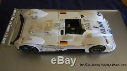 BMW V12 LMR art car LM 99 Jenny HOLZER protect me what I want 1/18