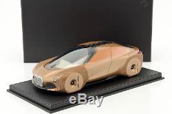 BMW Vision Next 100 Concept Car 2016 cuivre avec vitrine 118 BBR