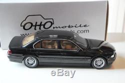 BMW e38 750 IL noire black 1/18 (1500ex) otto ottomobile OT609