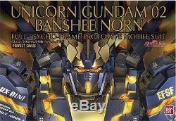 Bandai Gundam PG 1/60 Unicorn Gundam Unit 02 Banshee NORN Model Kit GPG29