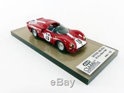 Bbr 1/43 Ferrari 365 P2/3 24h Le Mans 1966 Bc13