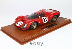Bbr BBRC1835AER Ferrari 330 P3 24H Le Mans 1966 fin de Course 1/18