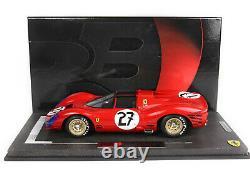 Bbr BBRC1849A Ferrari 330 P3 Spider 24h Le Mans 1966 1/18