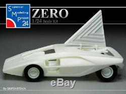 Bertone Lancia Stratos Zero Prototypo Kit 1/24 SMP24 NEW
