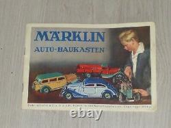 Boite d'origine MARKLIN 1103 1103ST Carrosserie Berline 2 portes / chassis 1101
