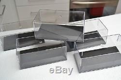 Boites + Socles Pm Par Carton De 120 Pour Voiture Miniature 1/43