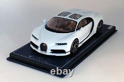 Bugatti Chiron Sky View Glacier White MR BUG08A 1/18 NEW