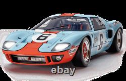 Build the Ford GT 40 Gulf le Mans scale 1/8 Altaya subscription