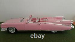CADILLAC ELDORADO BIARRITZ rose 1959 cabriolet 1/12 MAISTO 33202 voiture miniatu