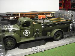 CHEVROLET PUMPER FIRETRUCK 1941 1/16 no 1/18 HIGHWAY 61 camion pompiers 50187