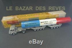 CIJ FRANCE. RENAULT porte pile MARCOULE EDF CEA. BOURGEY MONTREUIL. + Boite