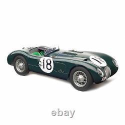 CMC 195 Jaguar Type C 18 Rolt Duncan Hamilton 24h France Le Mans 1953 1/18