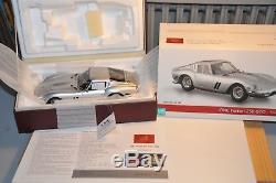 CMC 1-18 M-151 FERRARI 250 GTO Silver 1962