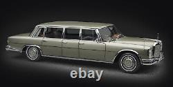 CMC 204 Mercedes-Benz 600 Pullman (W 100) Limousine with sunroof 1/18