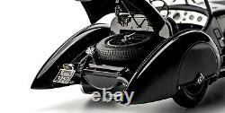 CMC 225 Mercedes SSK Trossi 1932 Black Prince 1/18