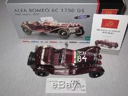 CMC Alfa Romeo 6C 1570 GS, Mille Miglia #84, 1930, M-141, Limitiert, OVP