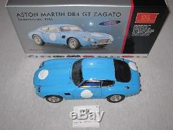 CMC Aston Martin DB4 GT, Zagato, Blau, 1961, M-140, Limitiert, OVP
